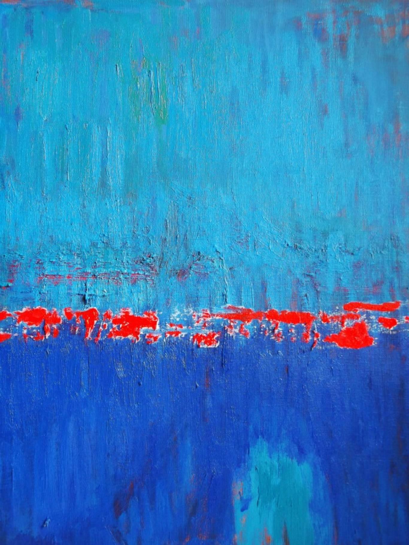 Виставка надихаючого абстрактного живопису «Introверсія» Ольги Морозової.