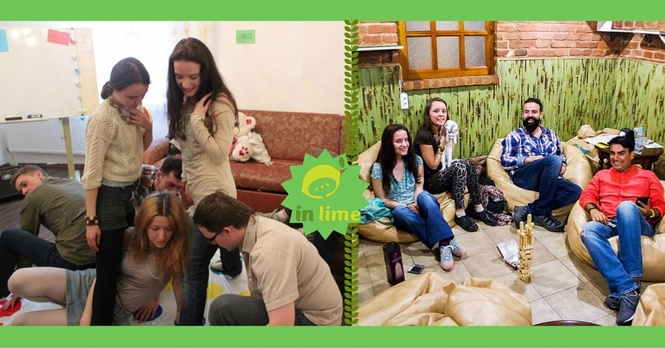 Заняття In Lime English speaking Cats & Games Party