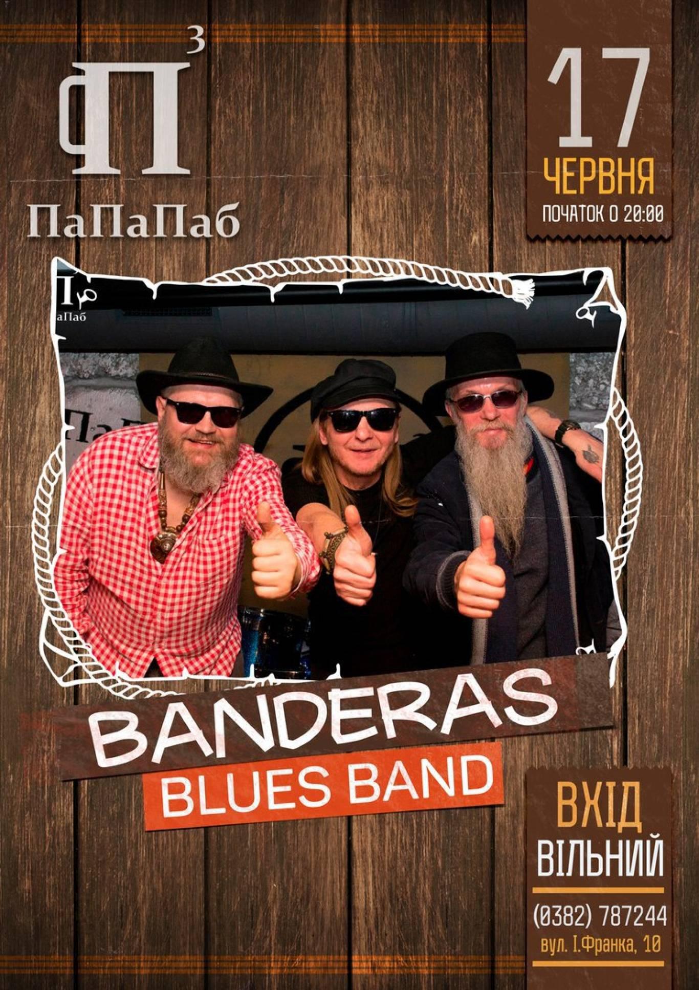 "Концерт гурту ""Banderas Blues Band"", ПаПаПаб"