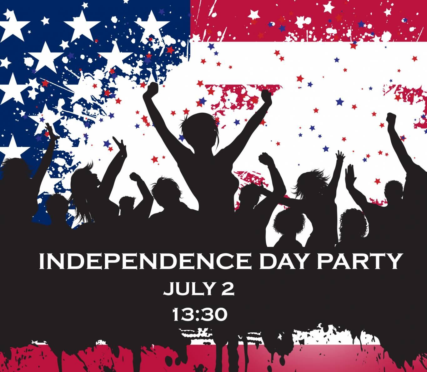 Святкування Дня незалежності США в Американському домі