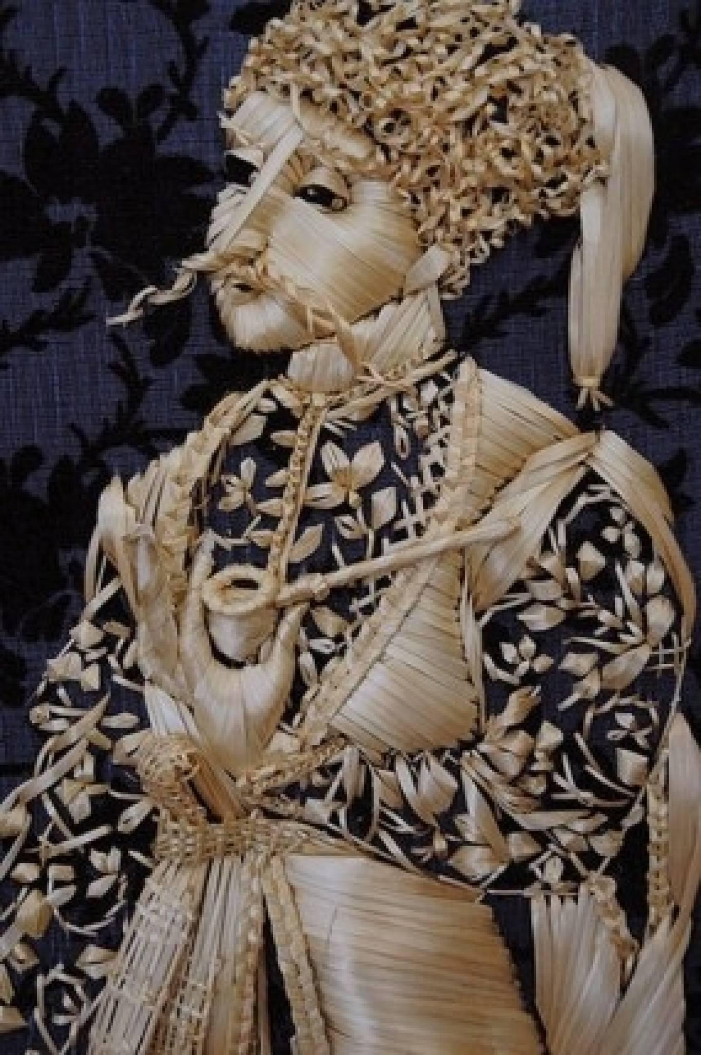 Виставка солом'яного шитва
