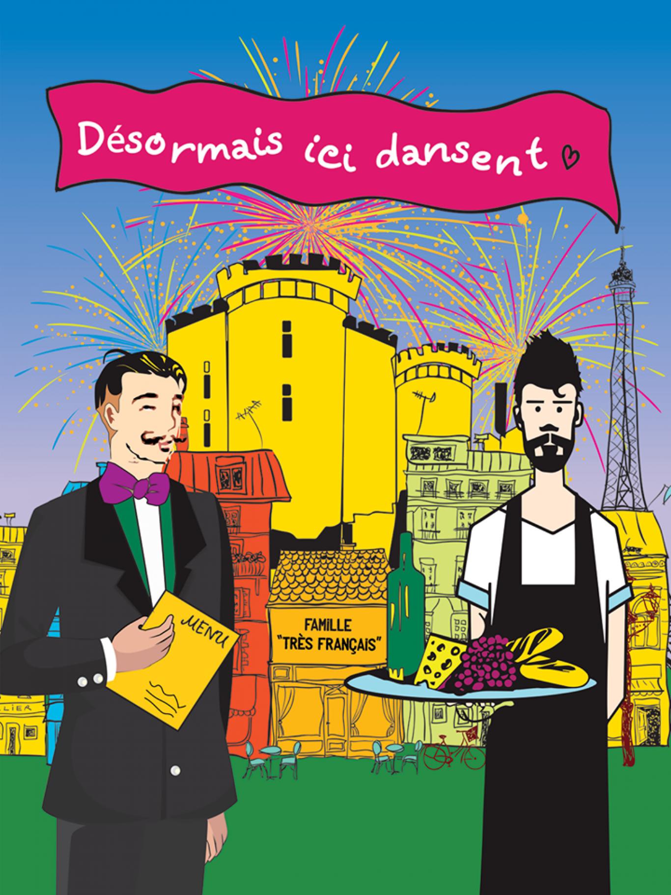 Дни взятия Бастилии в сети кафе Famille Très FRANÇAIS