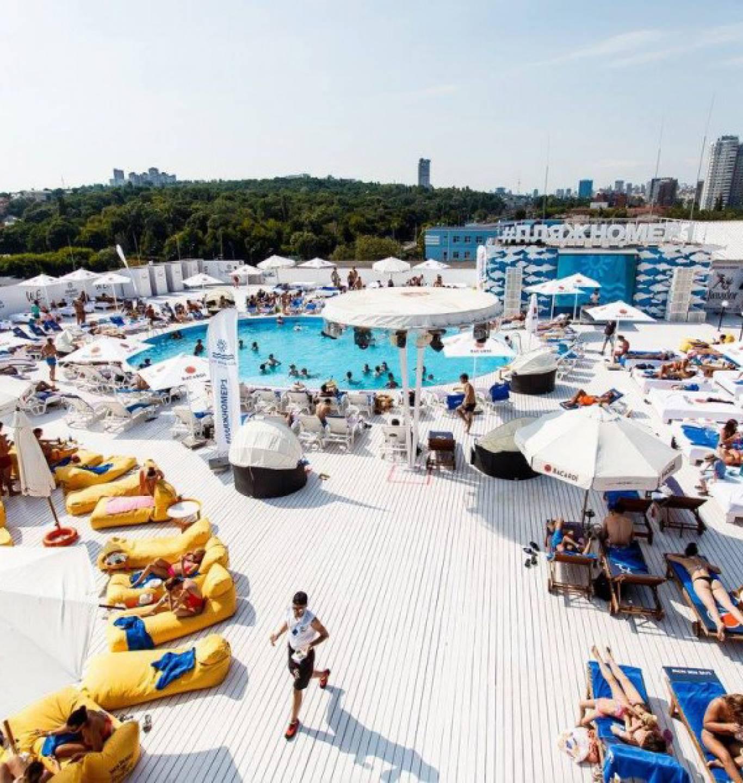 City Beach Club Kiev: кінопокази та пляж