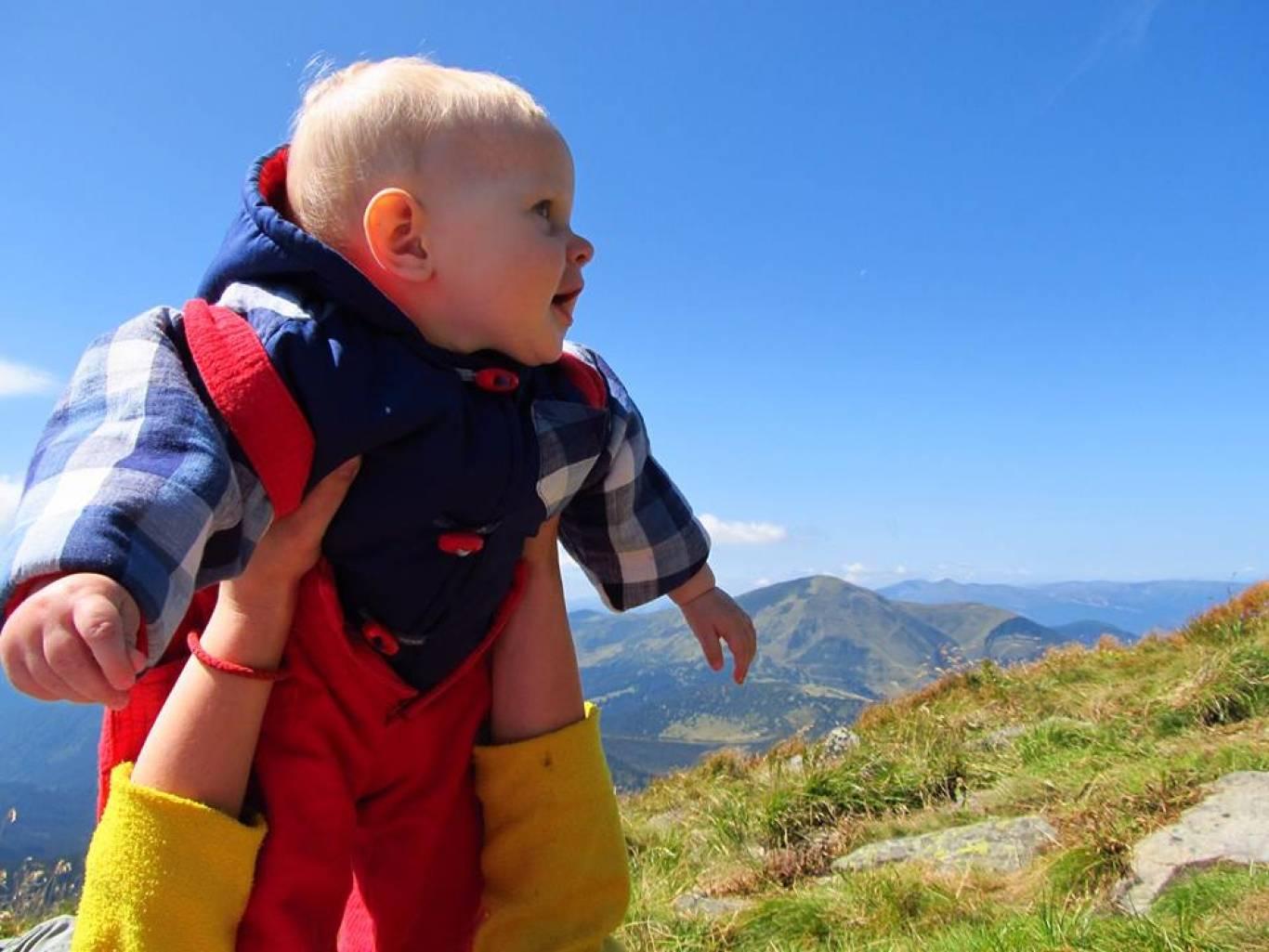 Походи в гори з дітлахами