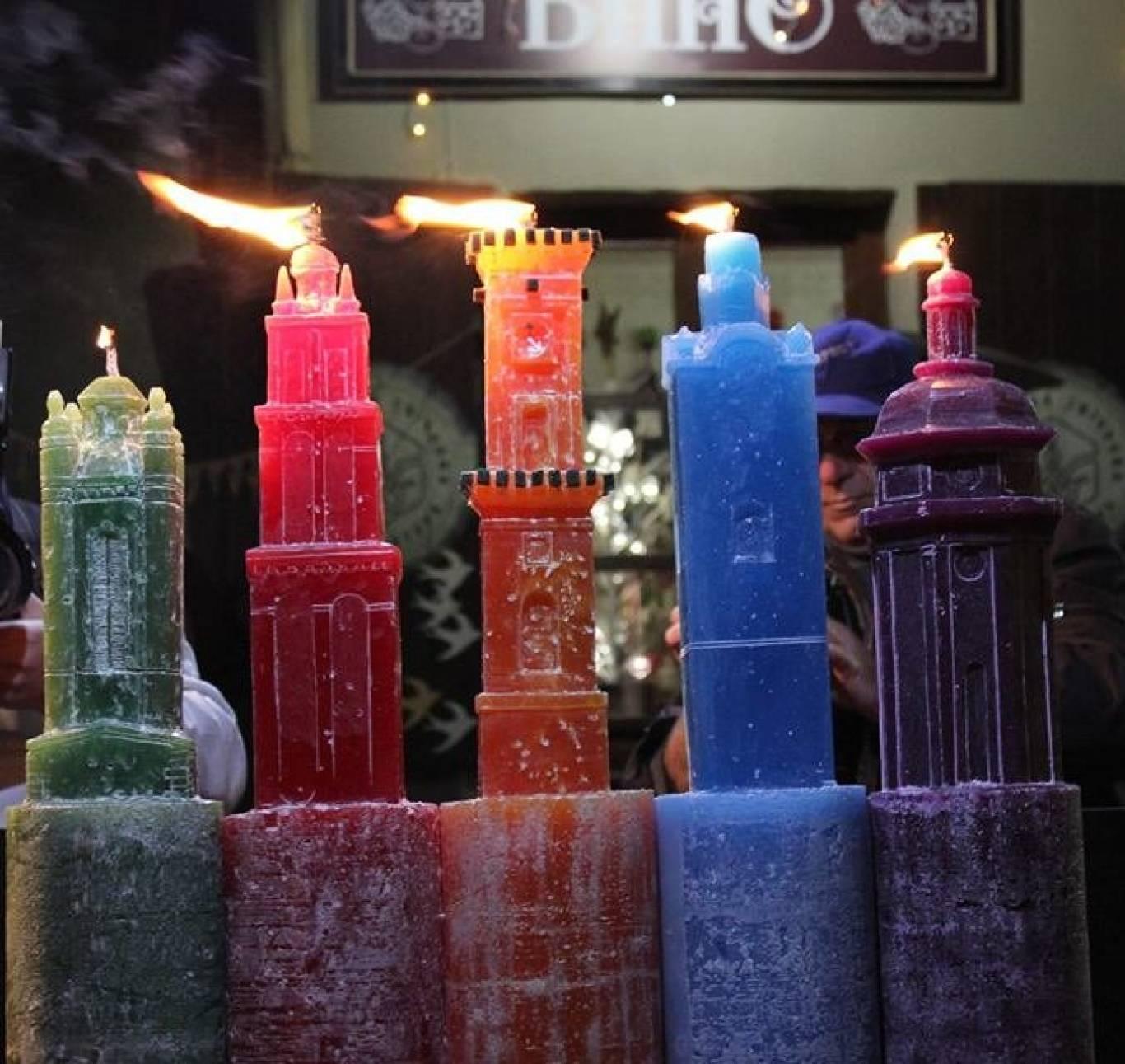 Фестиваль свічок на площі Музейній 2016