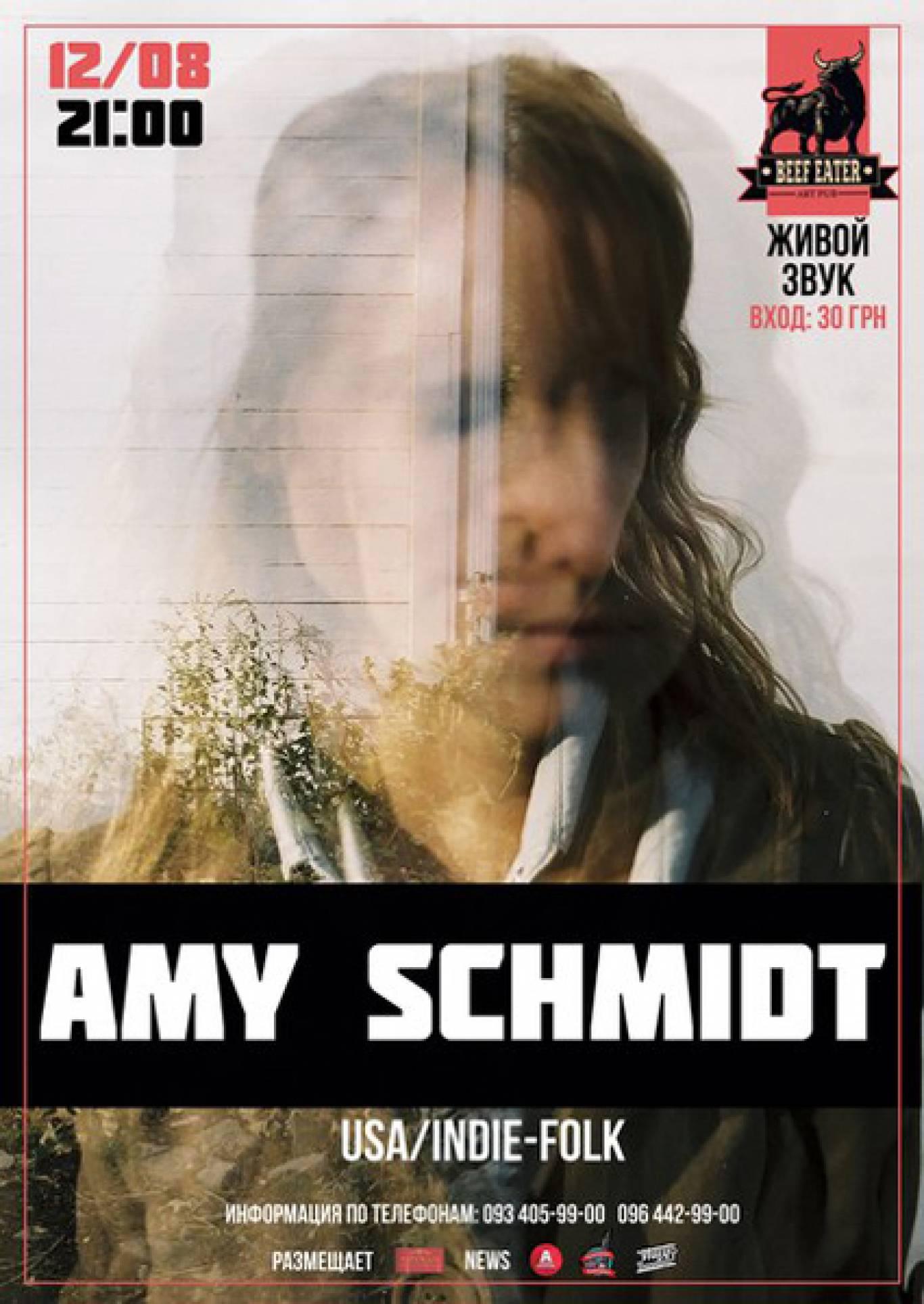 Концерт американки Amy Schmidt