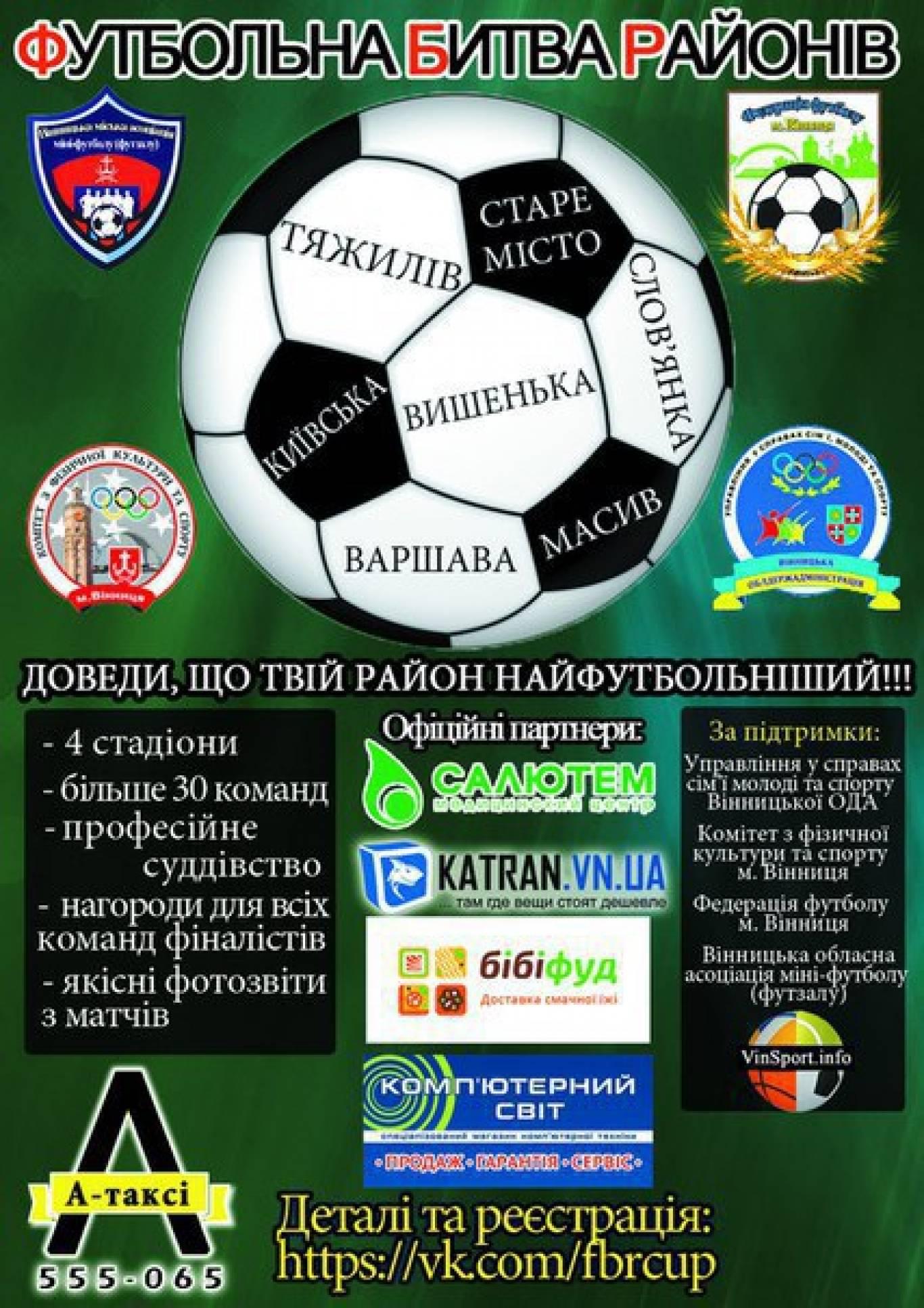 Футбольна Битва Районів (ІІ сезон)