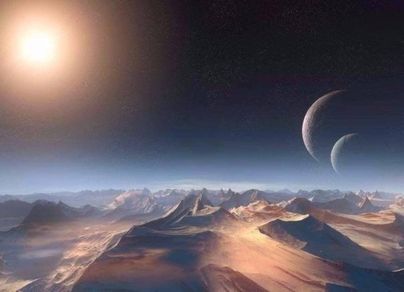Неймовірне явище - Подвійний місяць