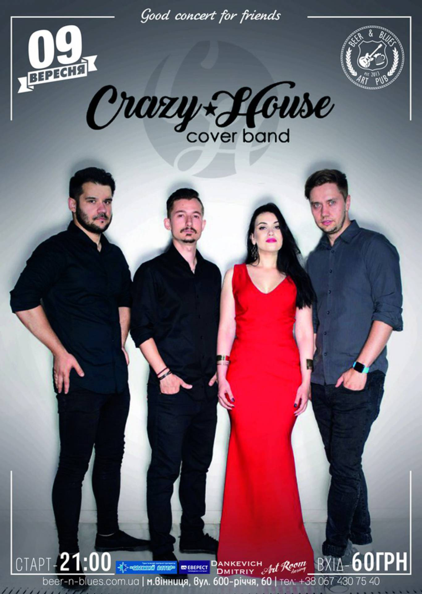 Cover band Crazy House