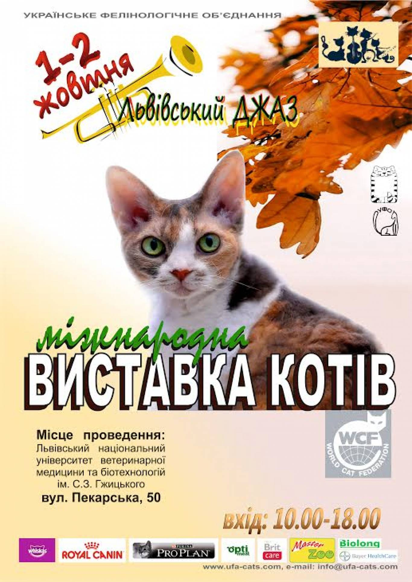 """Міжнародна виставка котів """"Львівський джаз"""""""