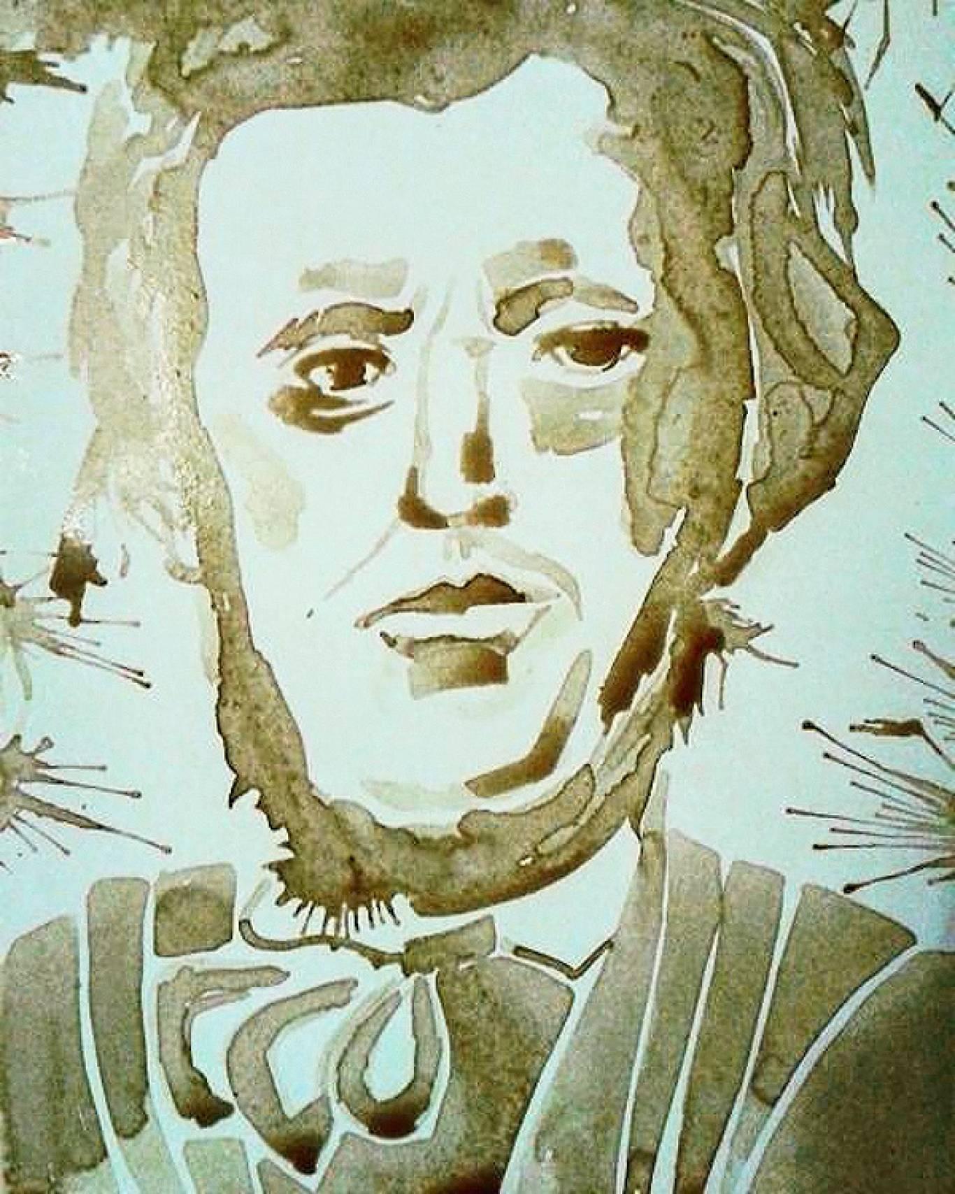 """Виставка Олі Довгань-Левицької """"Портрети видатних композиторів світу"""""""