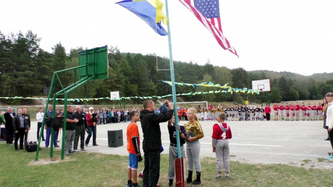 Чемпіонат з бейсболу серед школярів у Кременці