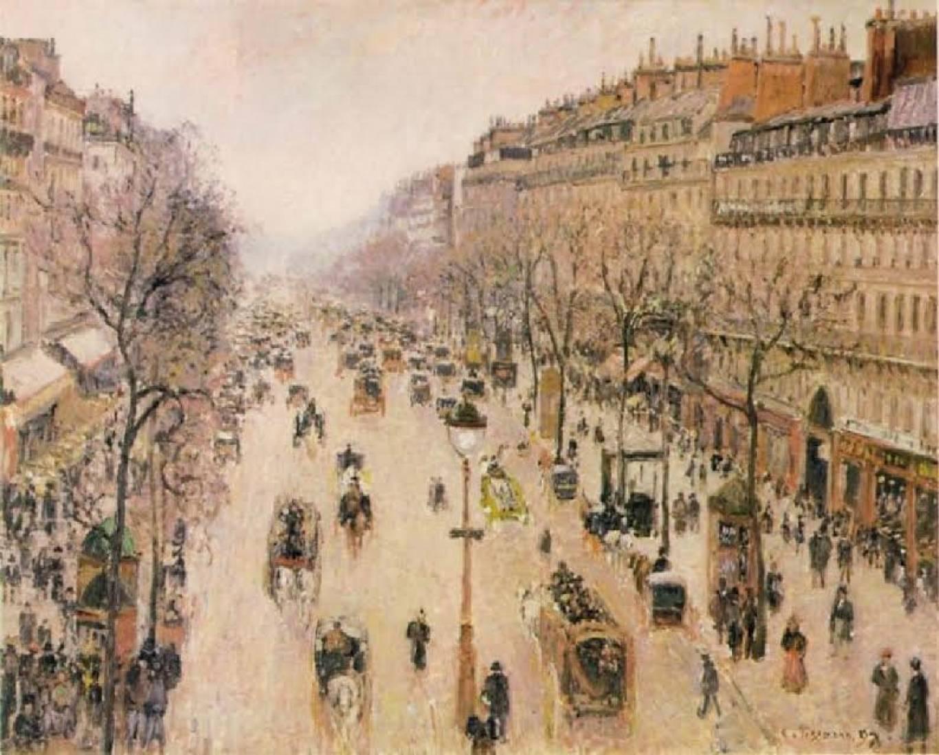 """Лекція Мауріціо Грібауді """"Париж - столиця ХІХ століття"""": урбаністичні форми та соціальні практики"""""""