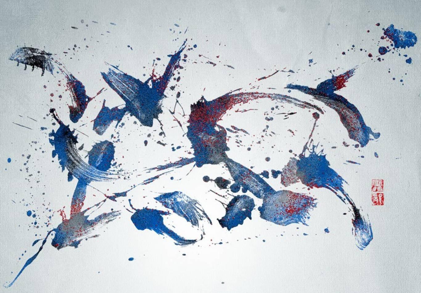 Відкриття виставки японської каліграфії