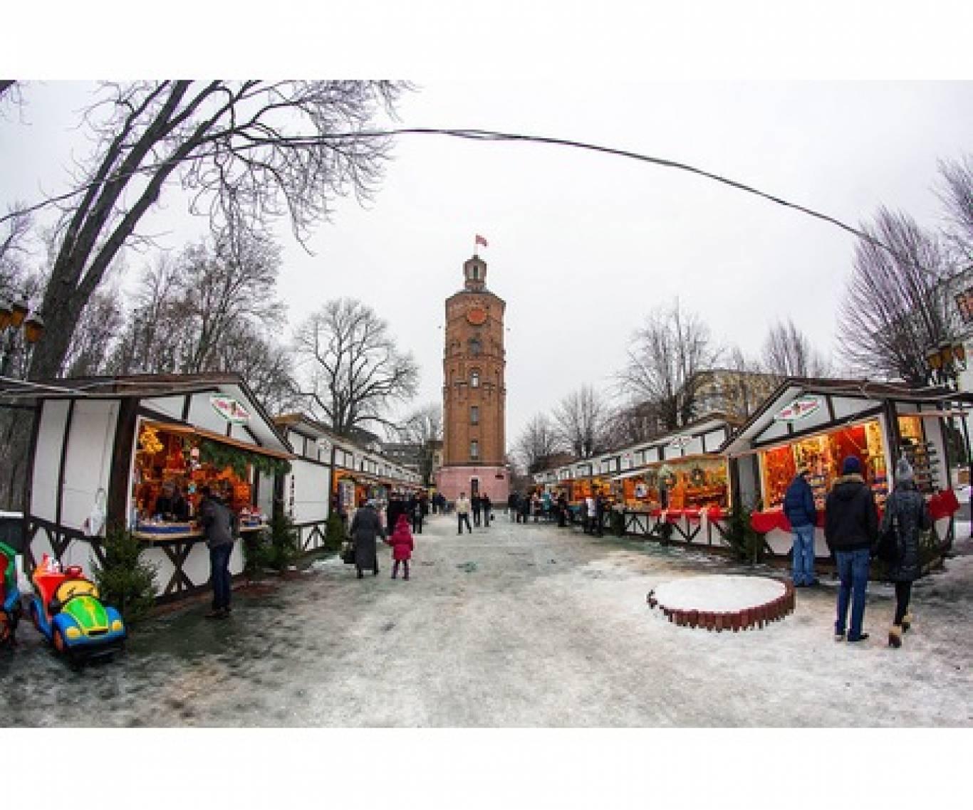 Різдвяний ярмарок у Вінниці