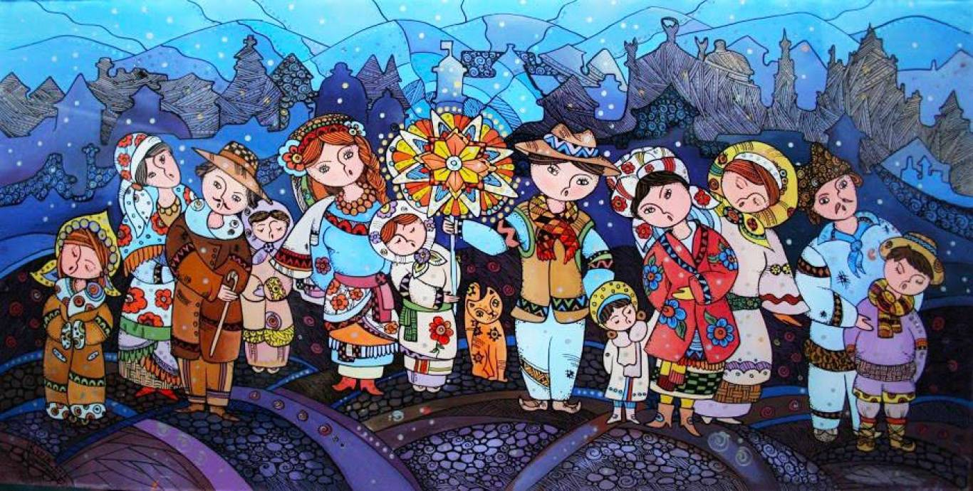 Різдвяний флешмоб зі співанням колядок та щедрівок