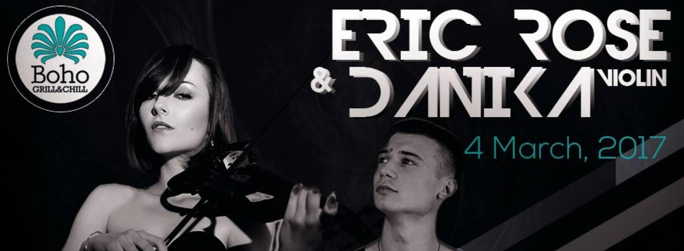 04.03 | Eric Rose & Danika (live violin) | Boho