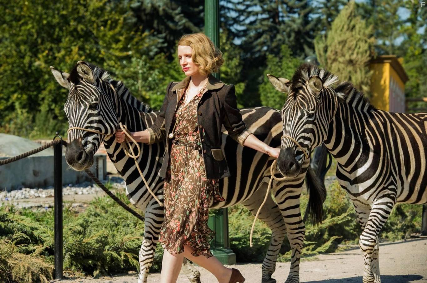 Премьера: Жена смотрителя зоопарка|2017