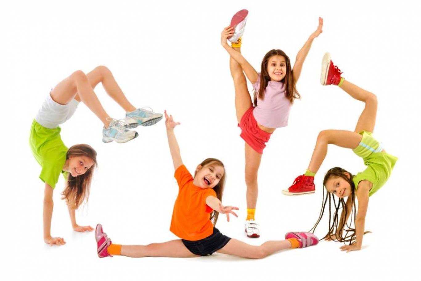 Заняття з дитячого фітнесу
