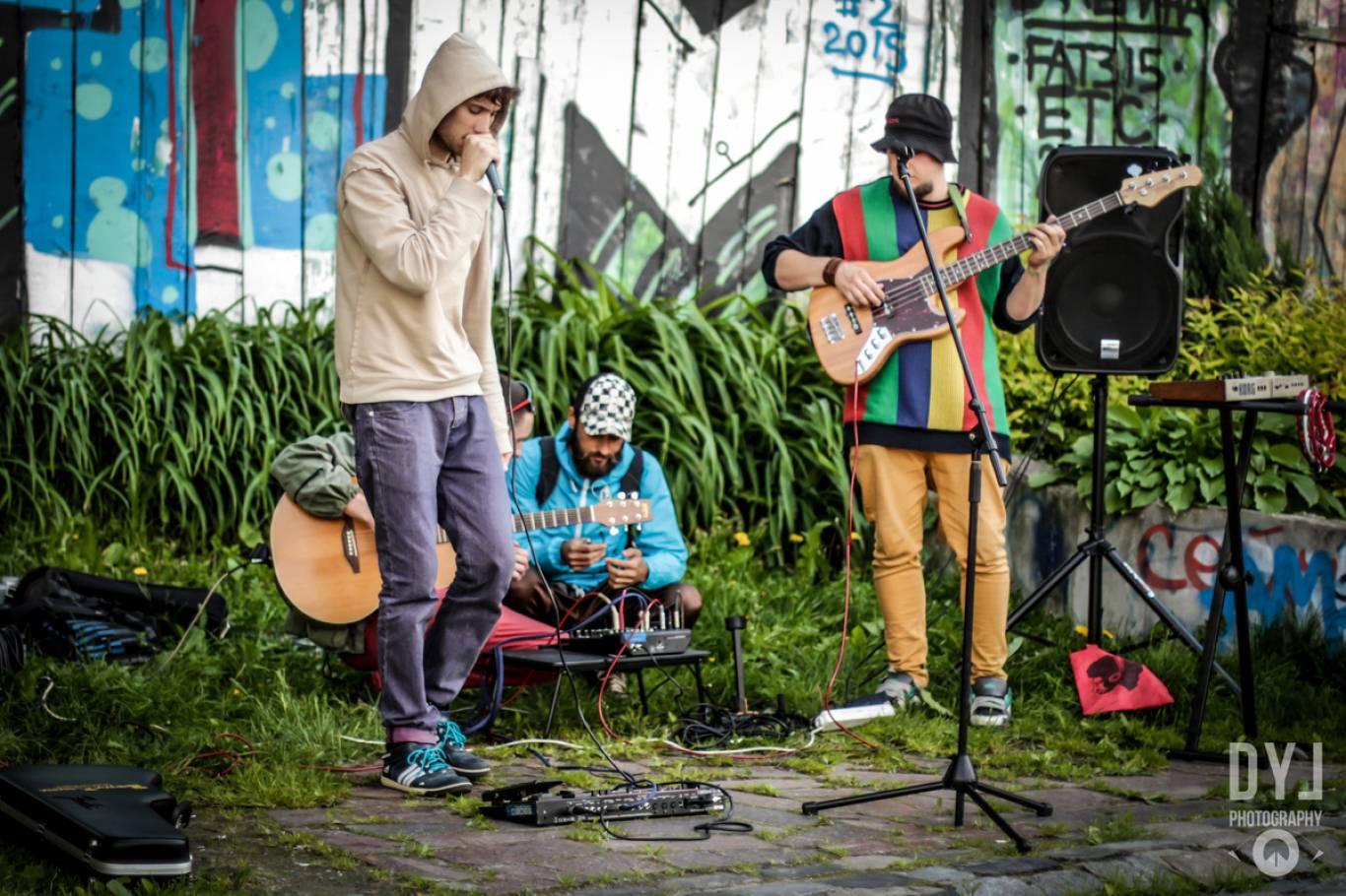 День вуличної музики в селі Бобриця