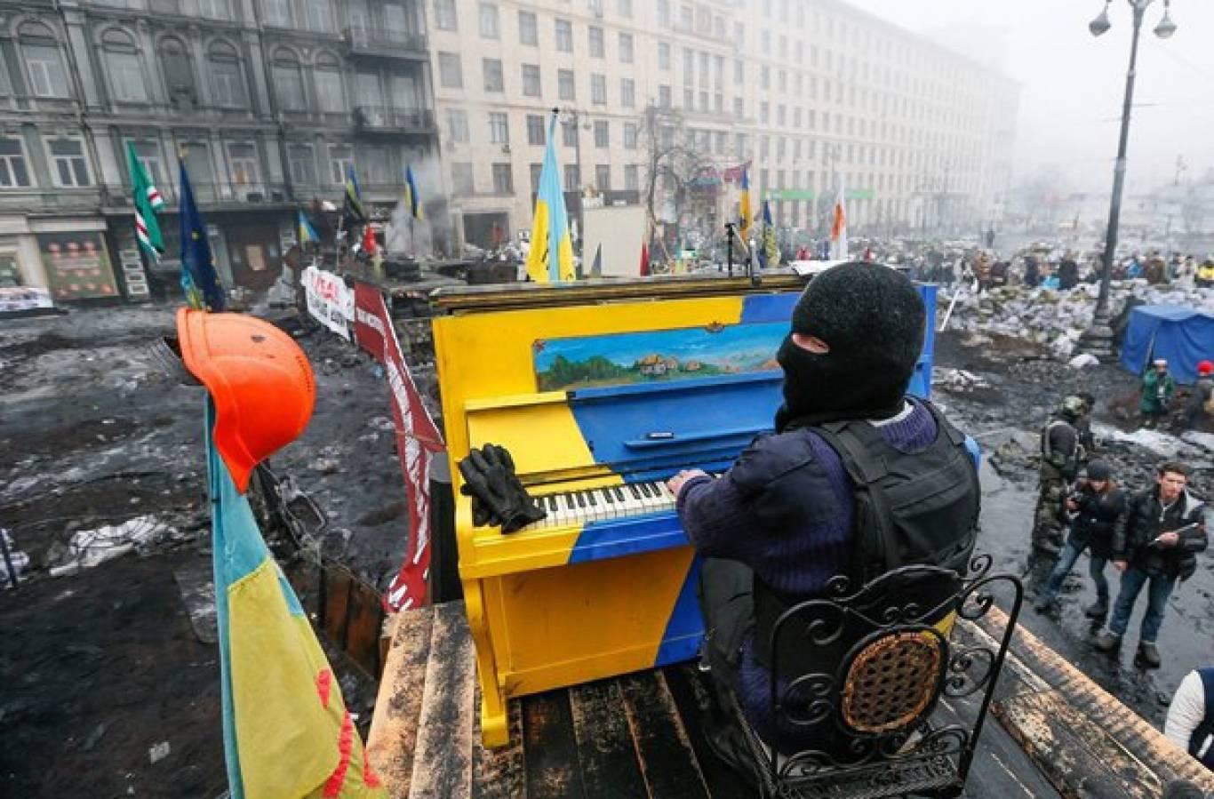 PianoExtremist  у Вінниці. Концерт музичного символу Революції Гідності
