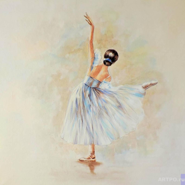 """Майстер-клас акрилом """"Маленька балерина"""""""