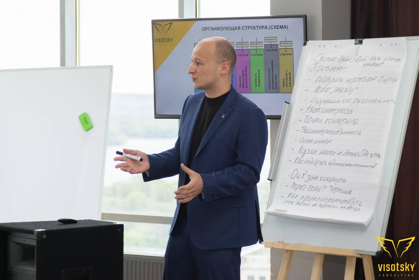 """Тренінг """"Як розробити діючу структуру компанії"""" від Visotsky Consulting"""