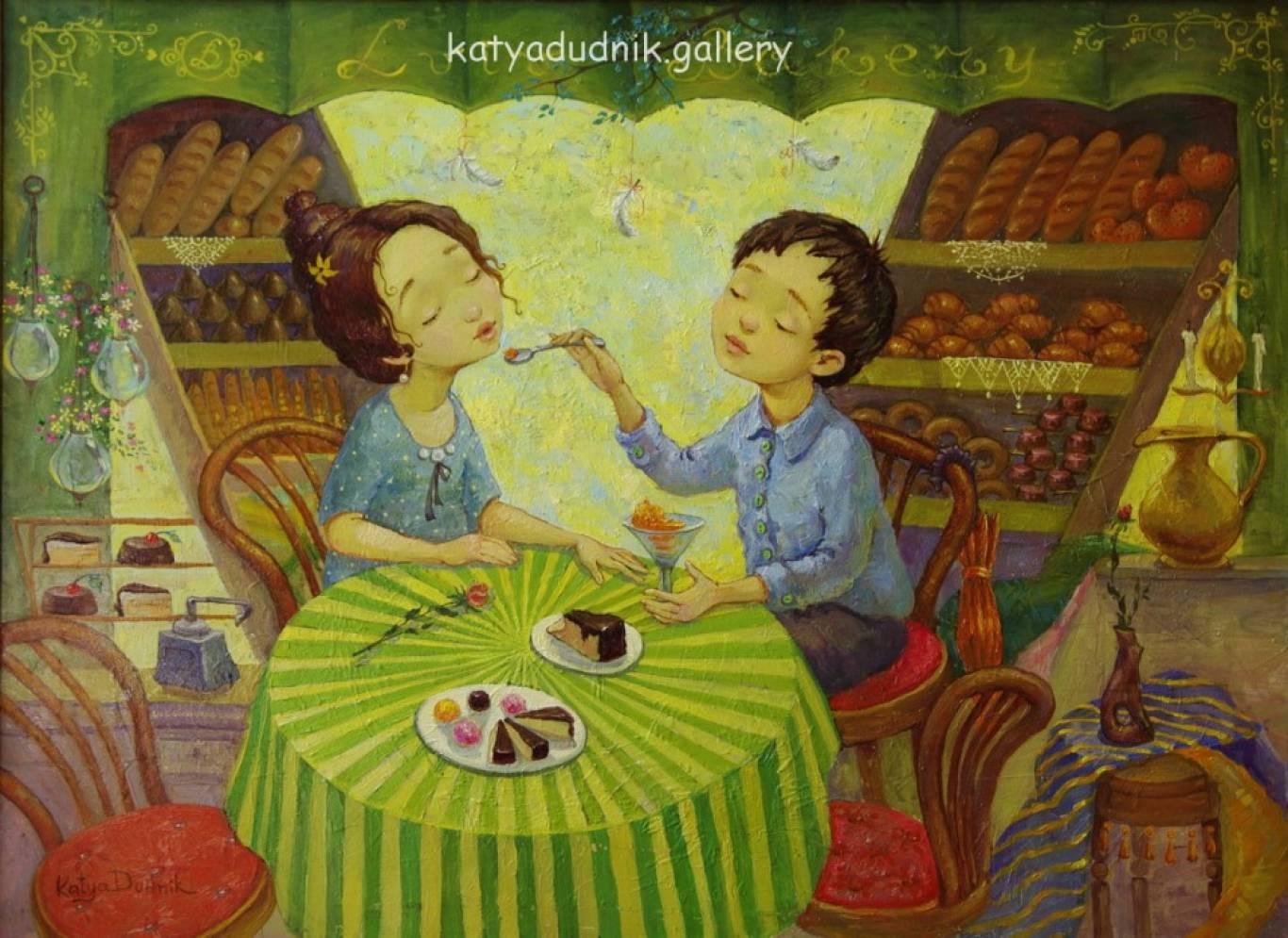 Выставка живописи Кати Дудник