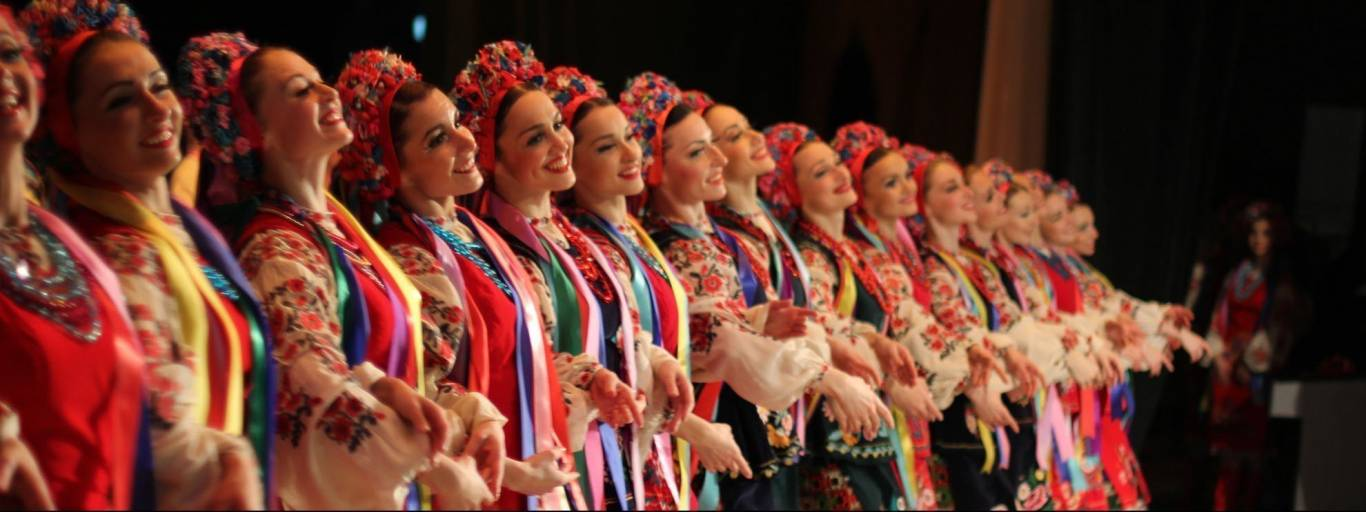 Концерт ансамбля танца им. Павла Вирского