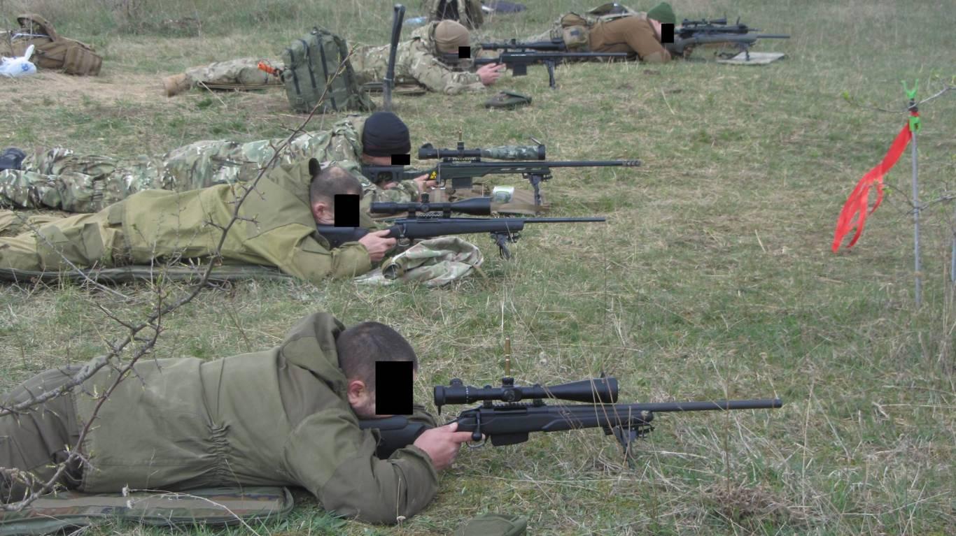 """Школа снайперів """"Дике поле"""