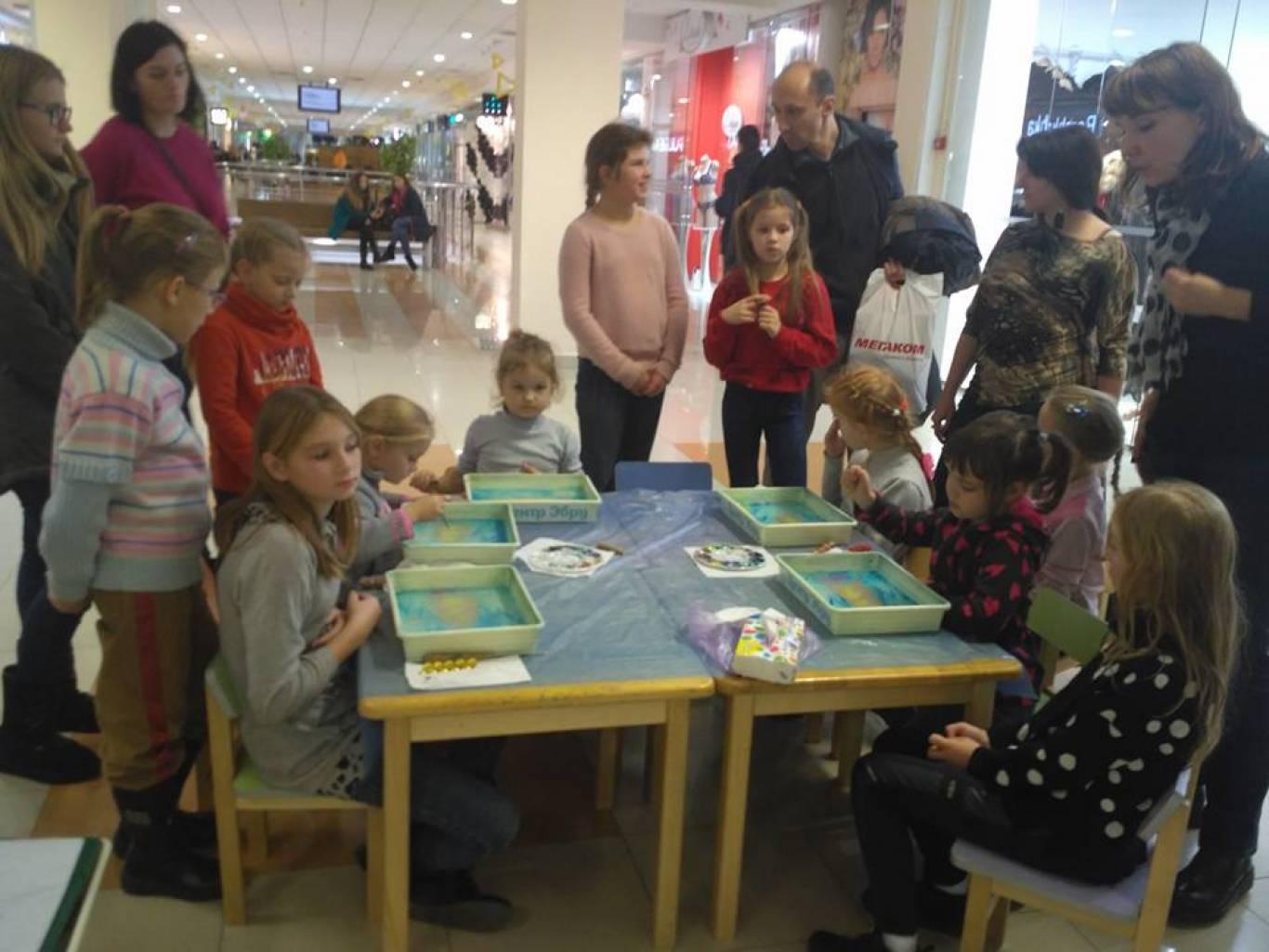 Дитячі майстер-класи у Sky Park
