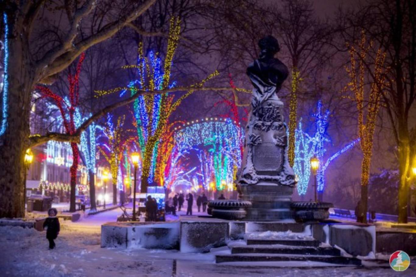 Новий Рік в Одесі