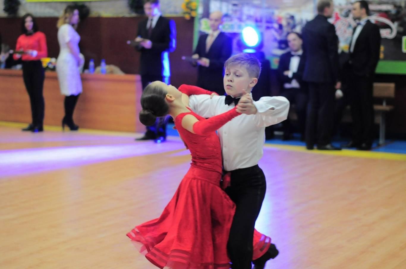 Відкриті змагання зі спортивних танців