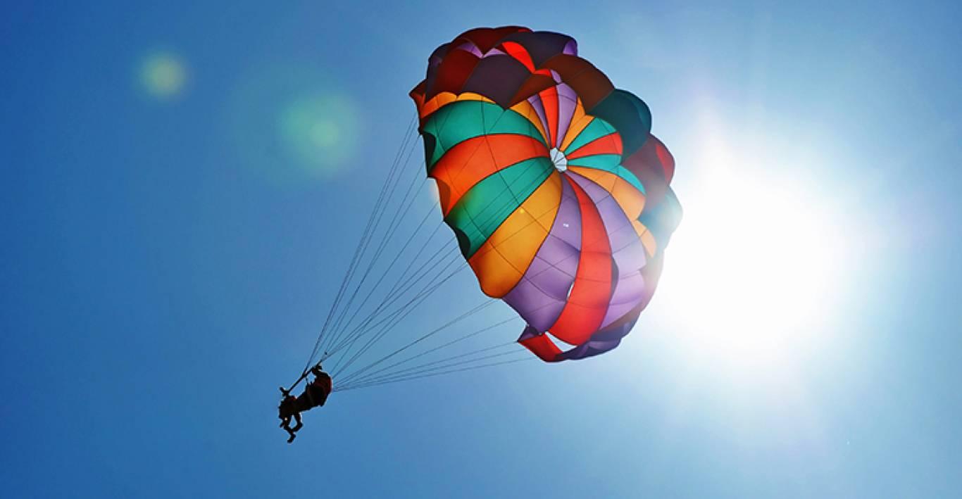 Картинка прыжок с парашютом, рождением внучки рисунок