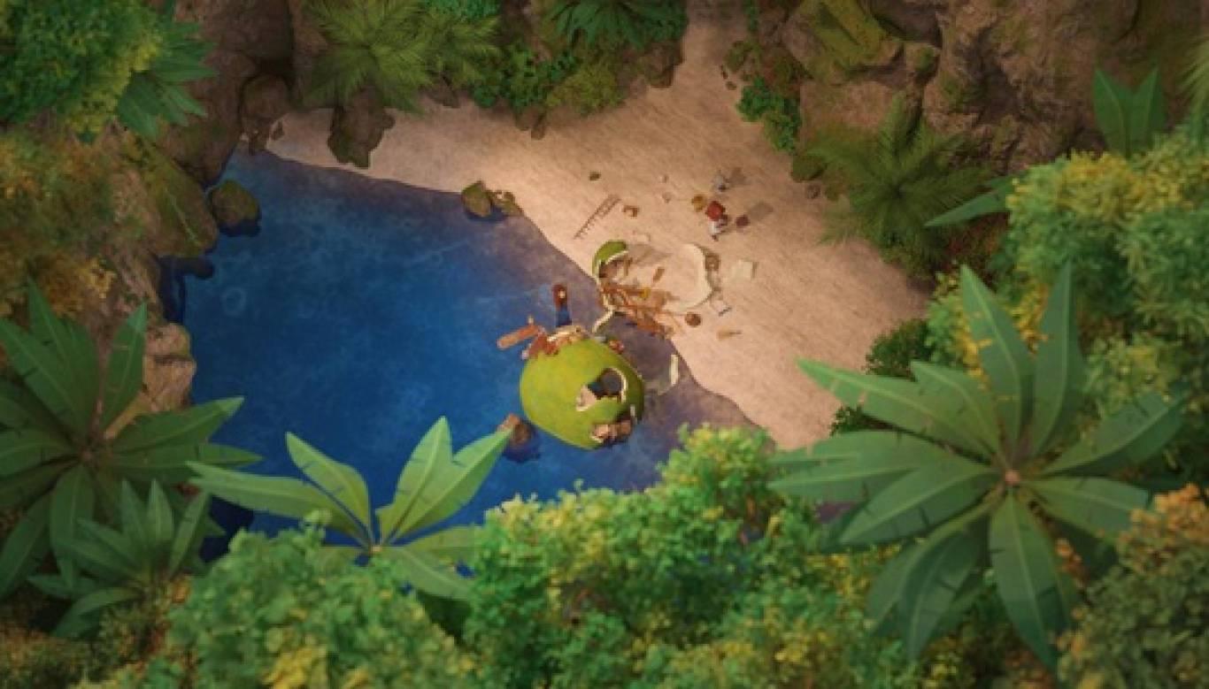 Пригодницький мультфільм Неймовірна історія про гігантську груші