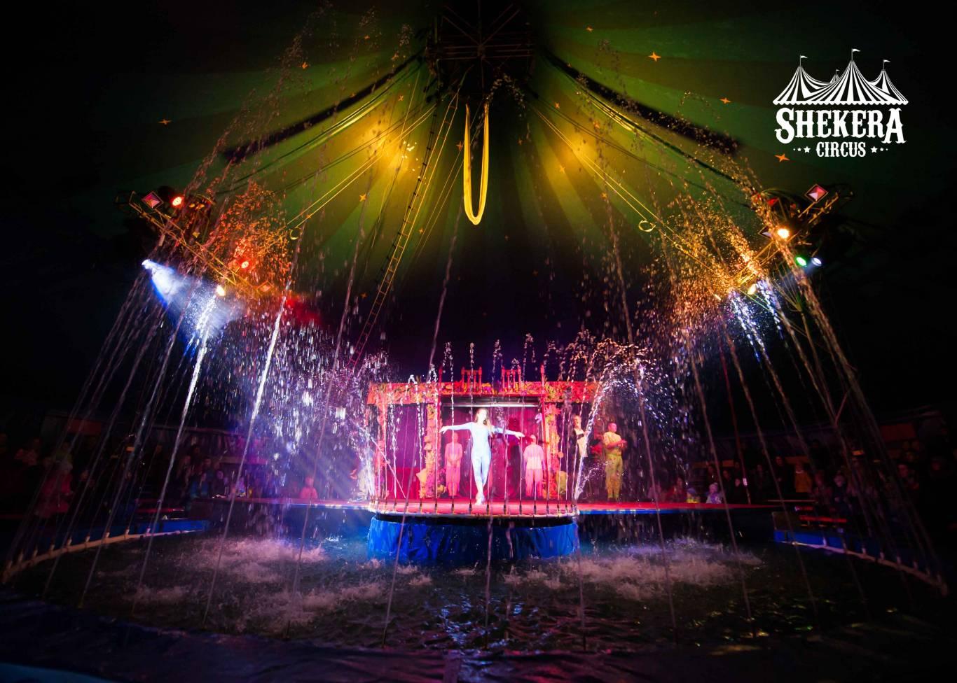 """Цирк на воді """"Shekera"""" у Вінниці"""