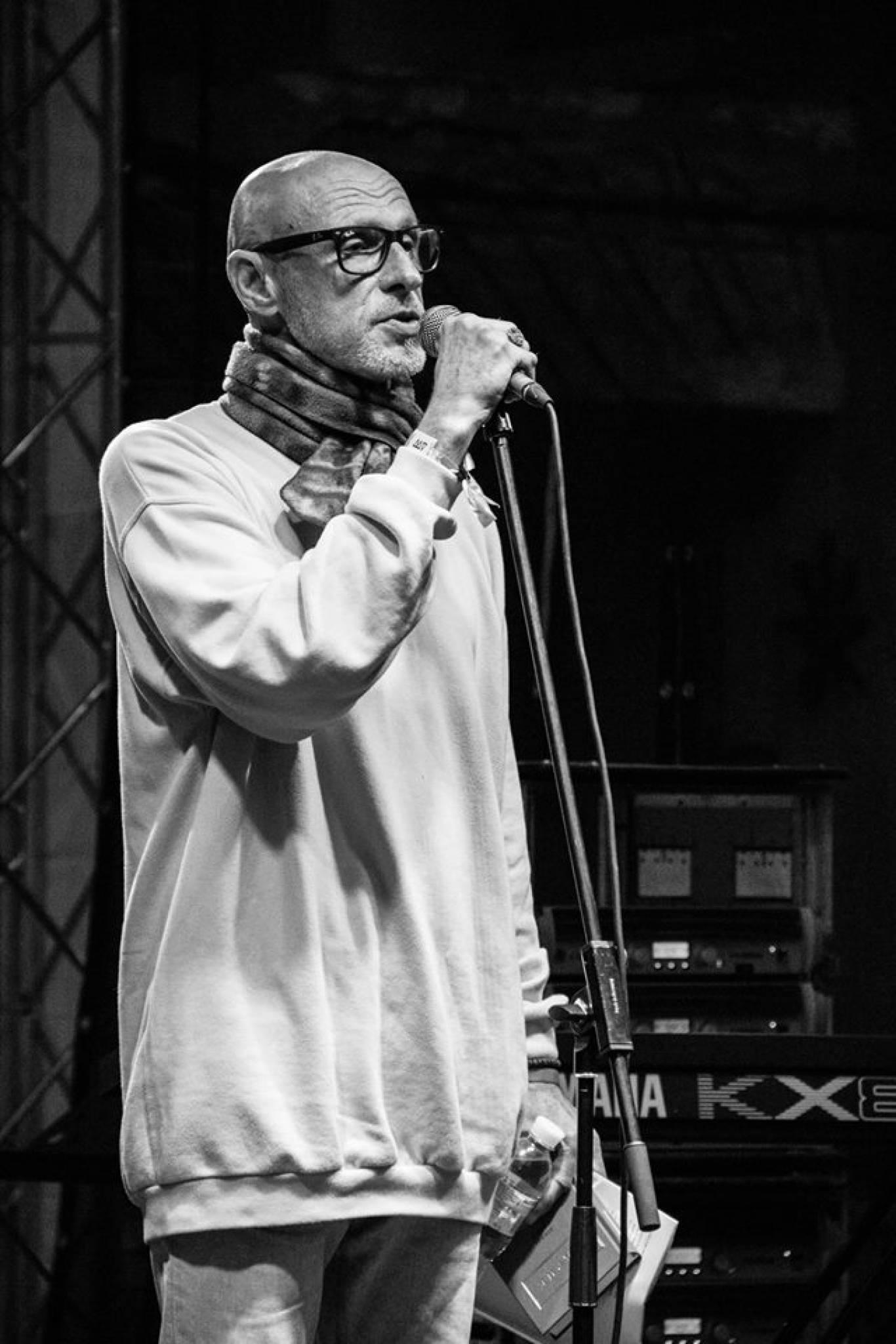 Юрій Іздрик на фестивалі Файне місто 2018