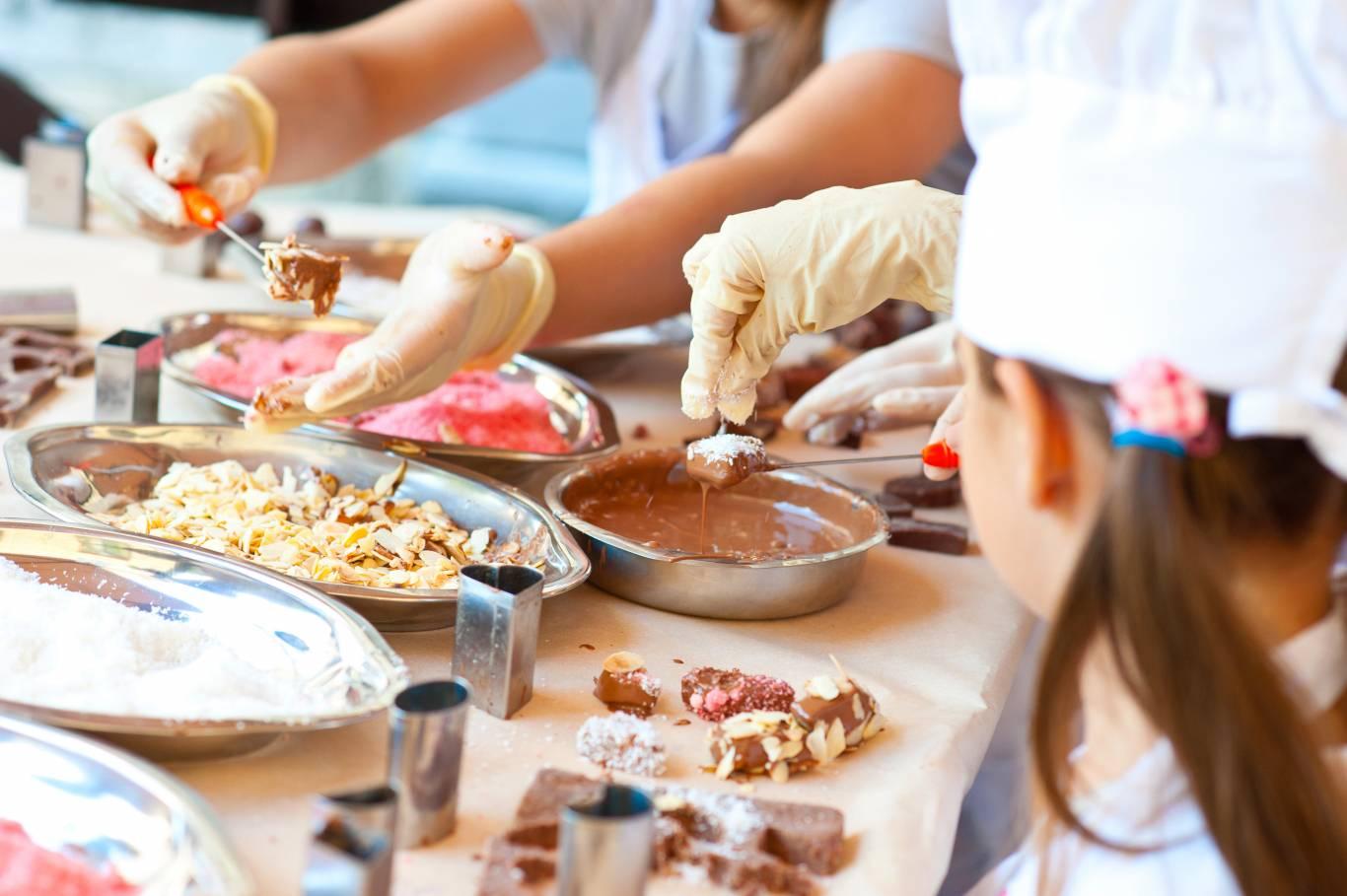 «Шоколад з карамеллю»  у ІГРОЛЕНД кулінарний майстер-клас
