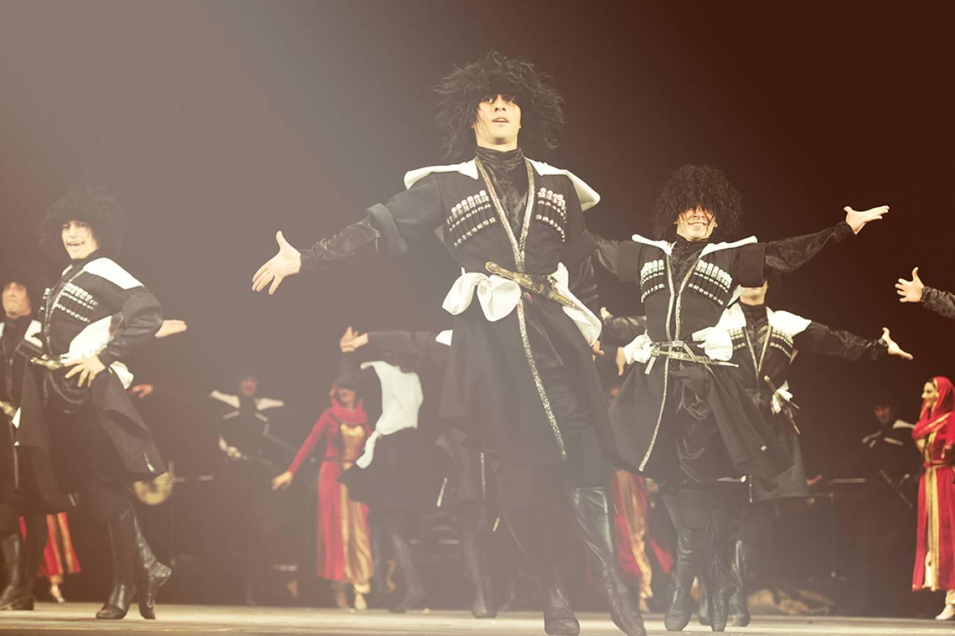 Державний ансамбль пісні і танцю Грузії KUTAISI у Хмельницькому