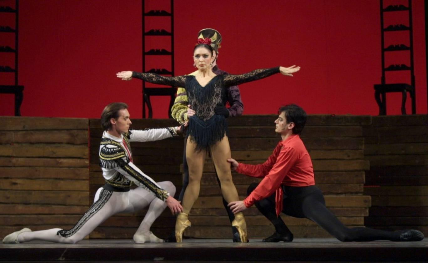 Одноактные балеты «Кармен-сюита» и «Шопениана»