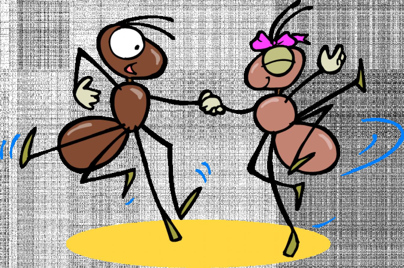 Марта, смешные рисунки муравей