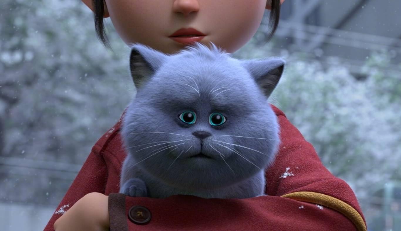 Пригодницький мультфільм Велика котяча втеча