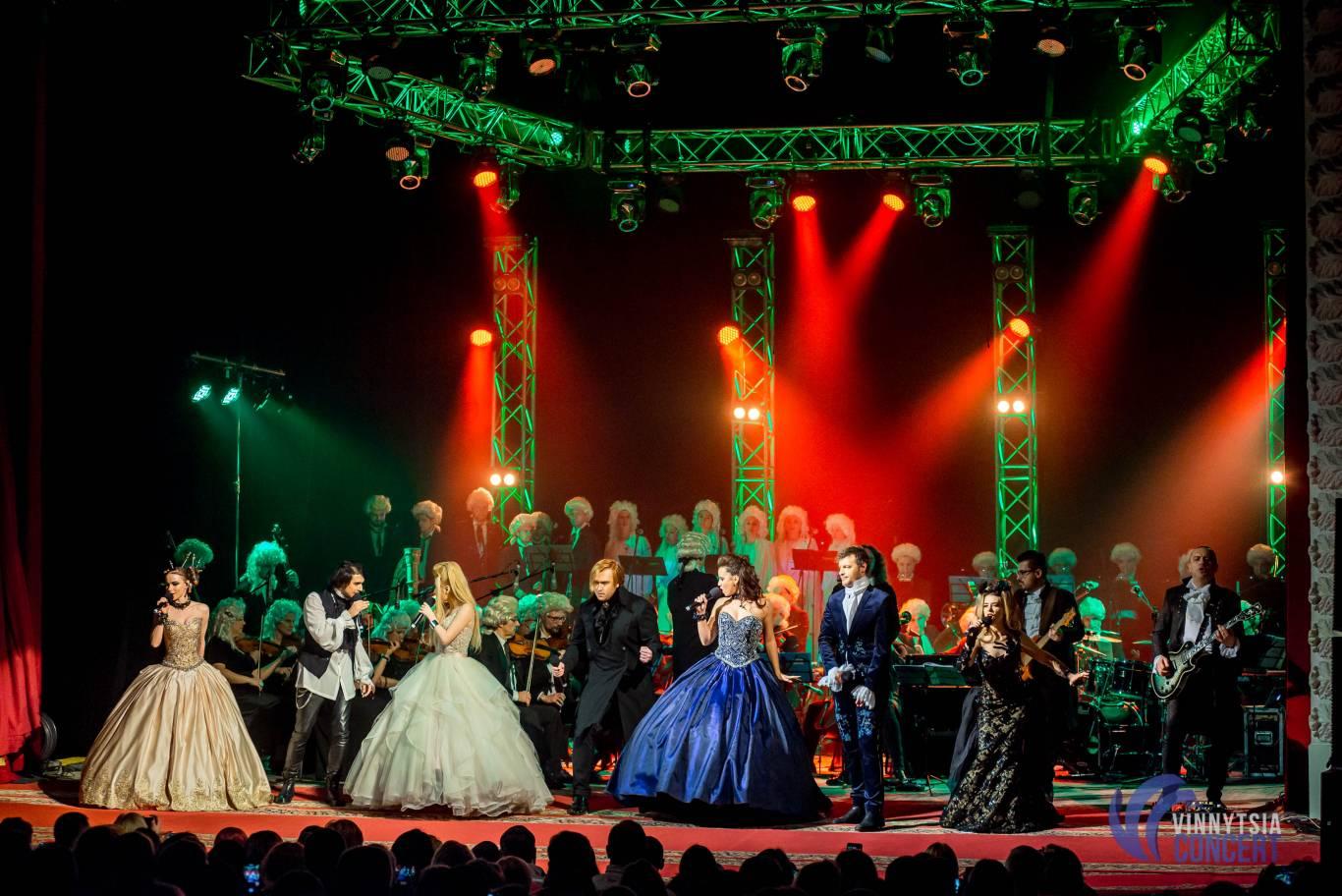 Rock MOZART Le Concert 9 грудня у Вінниці!