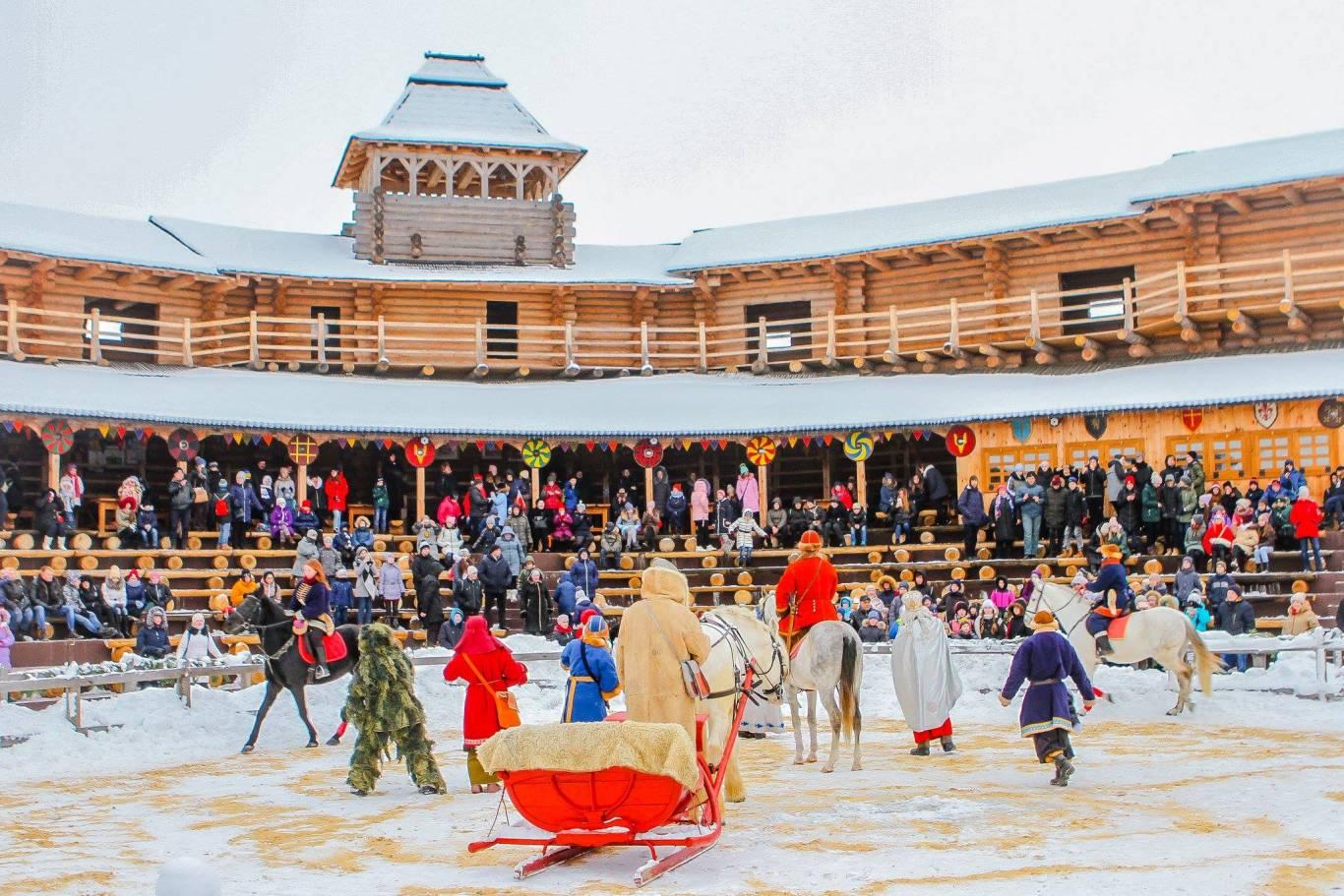 Старий Новий рік у Парку Київська Русь