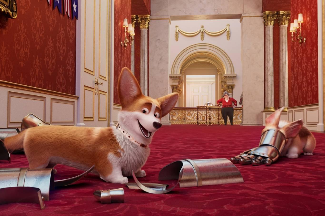 Мультфильм, семейный Королевский корги