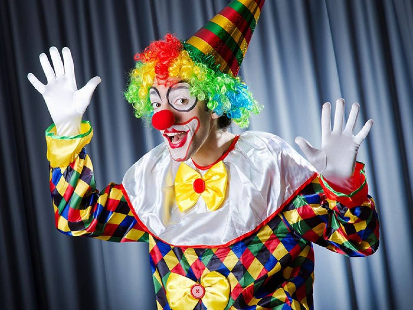 заказчики фото красивых клоунов вашей