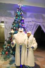 Дід Мороз і чарівне дзеркало