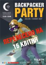 BACKPACKER party