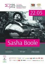 Концерт Sasha Boole у форматі AfterMezzo