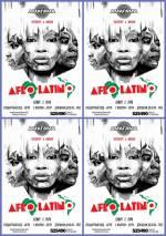 Вечірка в ритмі латино в Амагама «Afro-Latino»